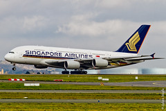 Airbus A380-841 singapores airlines 9V-SKF