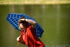 Mark and umbrella madness