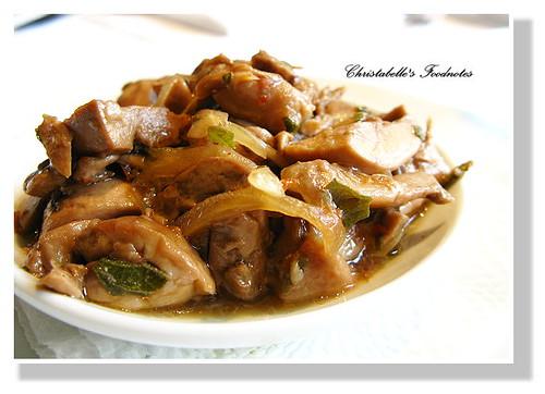 LaGiara開胃菜漬洋菇