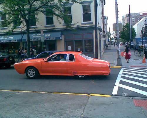 It's an orange thing