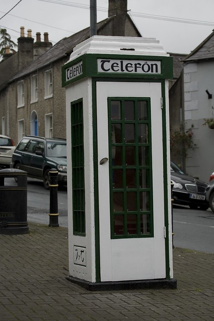 OLD TELEPHONE KIOSK