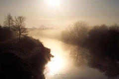 01Forth&ClydeCanal (moi_images) Tags: 2001 morning sun mist water scotland early glasgow may explore picaday bishopbriggs supershot