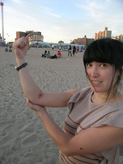 Cyclone aftermath (10bagspacking) Tags: coneyisland bruise cyclone
