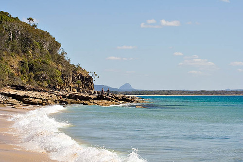Looking towards Noosa proper