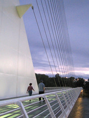 Sundial Bridge at Turtle Bay 6 (tgstewart1) Tags: california bridge sunset northerncalifornia sundial calatrava santiagocalatrava sacramentoriver pedestrianbridge turtlebay reddingca sundialbridge suspensionbridges turtlebaysundialbridge sundialbridgeatturtlebay