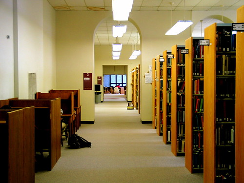 Carrier Library 2nd Floor