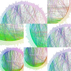 Friendship Wheel Collage, by choconancy.