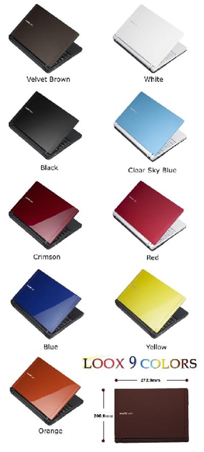 Fujitsu LOOX T70XN - Ultra Portable Laptop 2