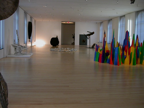 Perelman sculpture installation