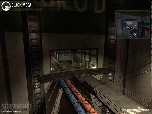 Black Mesa juego tuberías