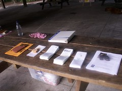Rainbow Springs State Park International Literacy Day Table