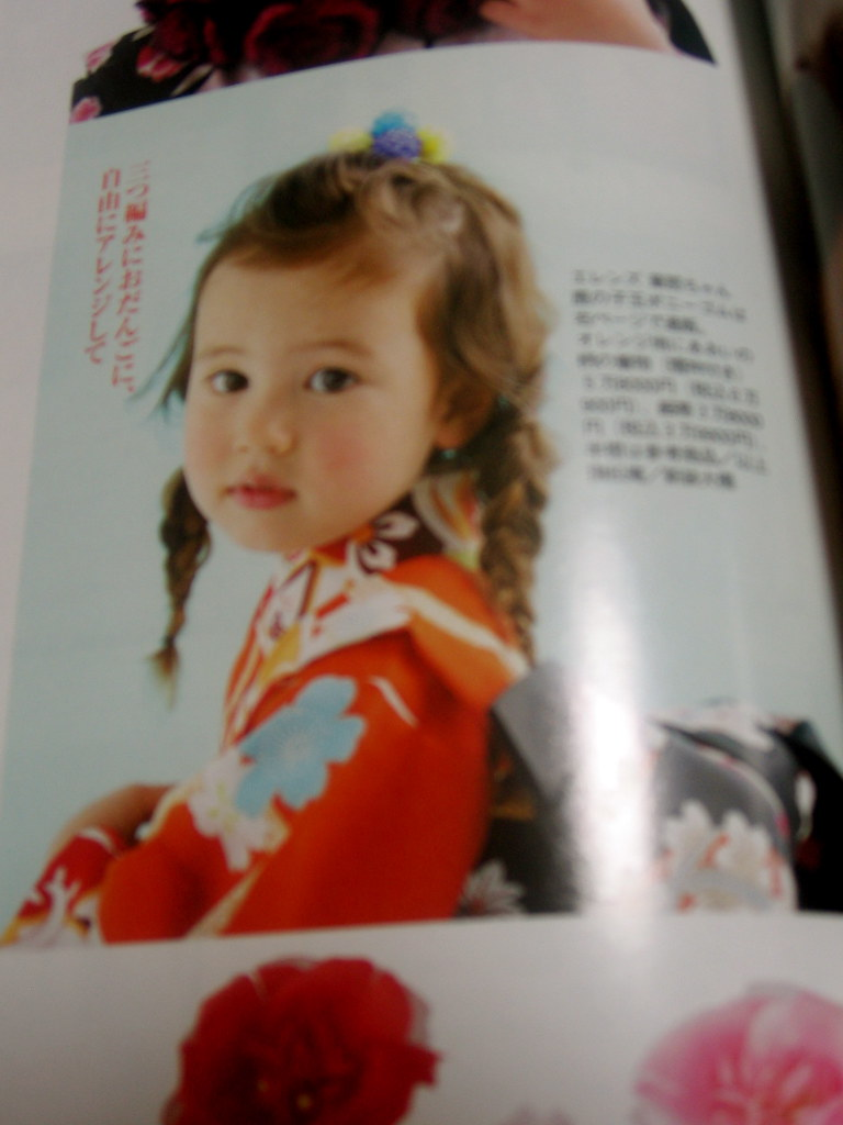 Kids' fashion magazine pic