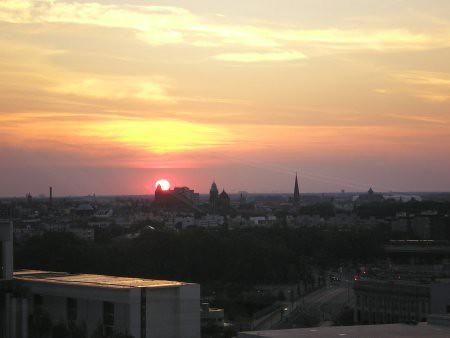Vista desde el Reichstag