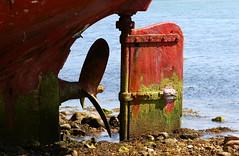stranded (hans solcer) Tags: rust ship bretagne wreck finistere