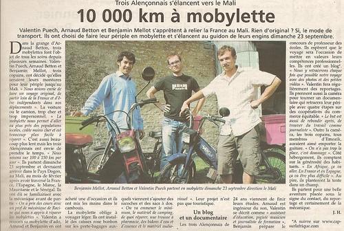 Orne Hebdo 18/09/2007