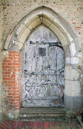 Buttsbury north door, Essex by Peter Herring.