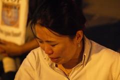 In Tears 2 (Taekwonweirdo) Tags: freedom justice democracy prayer burmese candlelightvigil chicagoillinois burmaprotest saffronrevolution