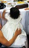 white dress white wedding dress photo