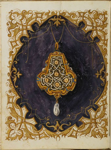 Jewel Book of the Duchess Anna of Bavaria (1550s) q