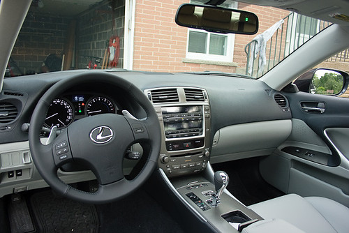 Lexus Is250. 2009 Lexus IS 250 interior