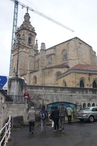 San Anton elizaren ondoan