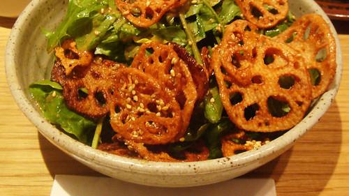 Koya Lotus salad