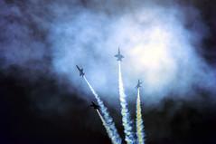 Starburst (SlowhandBuzz) Tags: airplane navy jet airshow blueangels acrobatic f18hornet wingsoveratlanta