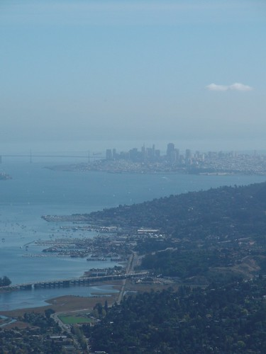 San Francisco: city from Mount Tam, redux