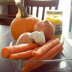 Veggies for fall soup