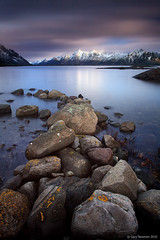 Mountain View (Gary Newman) Tags: longexposure mountains water norway rocks arctic lofoten svolvaer bigstopper