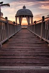 Pasarela (SerYey_ ( Sergio Franco )) Tags: sunset atardecer cuba pasarela varadero ocaso templete sergiofranco wwwsergiofotografiacom wwwsergiofotrografiacom