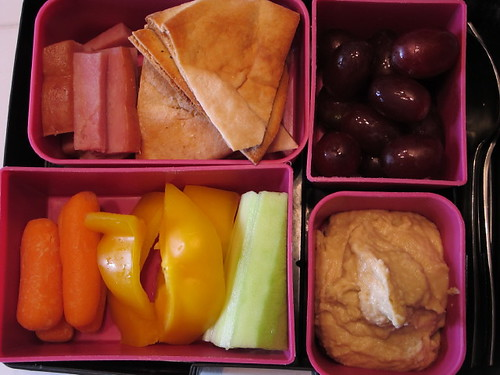 Bento Box Lunch 9-9-10