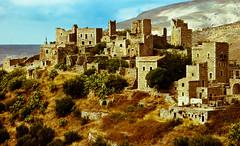 Postcard from Vatheia (BobbyKSmooth) Tags: mediterranean greece oldbuilding pelepponese vathia vatheia