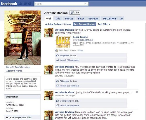 Antoine Facebook