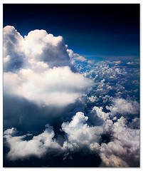 lao' skies (staffh) Tags: light sky clouds contrast airplane dream dreamy boeing laos 737 airasia boeing737
