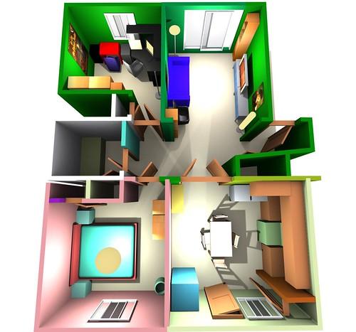Plan de mon prochain appartement - Mon petit appartement ...