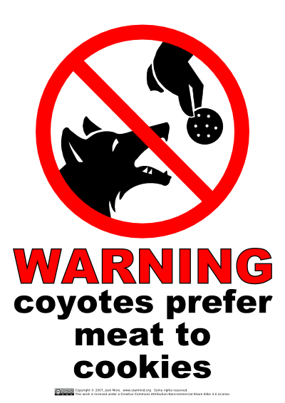 warning_coyotes_prefer_meat_to_cookies