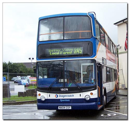Stagecoach Devon 18075 WA04CSY