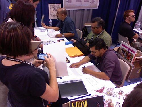 Los Bros. Hernandez, San Diego Comic-Con, 07/26/07