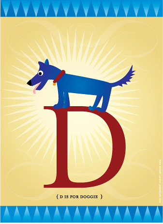 D is for Doggie