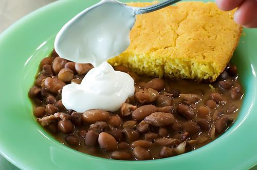porch beans cornbread 118
