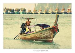 (Nasser Bouhadoud) Tags: trip sea man canon thailand island eos 350d phi poor nasser saher qatari    allil saherallil  ochen