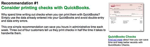 QuickBooks Checks: Kidding Me!