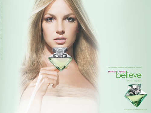 Britney Spears perfume believe