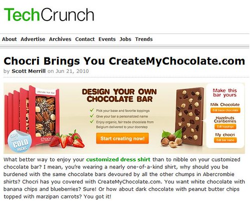 chocri techcrunch