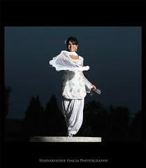 Panjaban ! (Harvarinder Singh) Tags: india white culture suit desi punjab ludhiana whitesuit kadhai punjaban punjabisuit panjaban desigirl punjabiyat harvarindersinghphotography harvarindersingh patialashahisuit