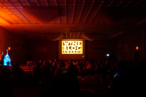 Wine blog awards room