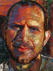 Richard Shulman for JKPP (flynryon) Tags: portrait painterly texture digital painting canvas ryon fingerpainted iphone layered scumble iphoneart jkpp flynryon art2010 juliakaysportraitparty iamda