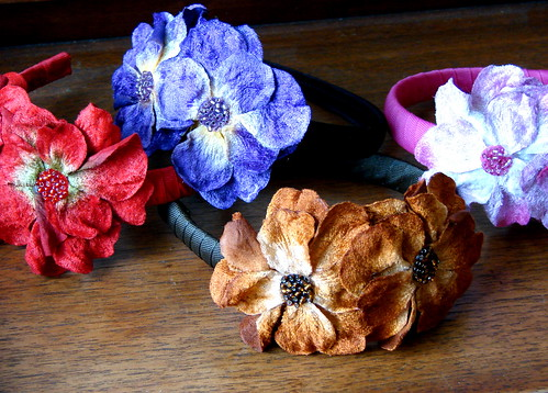 Floral Headbands - Multi Colored