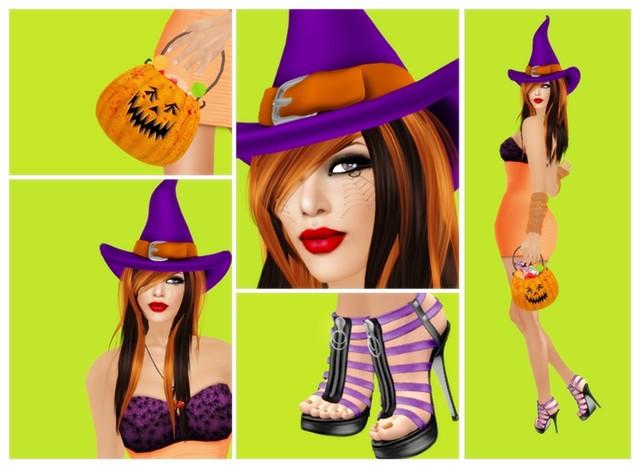 Halloween 2010 - Crafty Witch